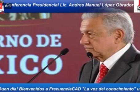 """ACUSA AMLO DE """"SABOTAJE LEGAL"""" CONTRA EL TREN MAYA"""