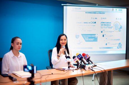NO HAY EMERGENCIA POR DENGUE EN QUINTANA ROO: ALEJANDRA AGUIRRE CRESPO