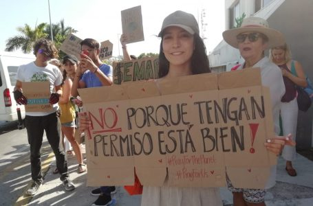 SE UNEN CANCUNENSES A PROTESTA MUNDIAL CONTRA CALENTAMIENTO GLOBAL