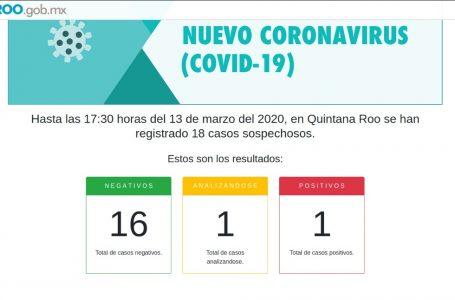 LLEGÓ  EL COVID-19 A QUINTANA ROO, CONFIRMAN AUTORIDADES