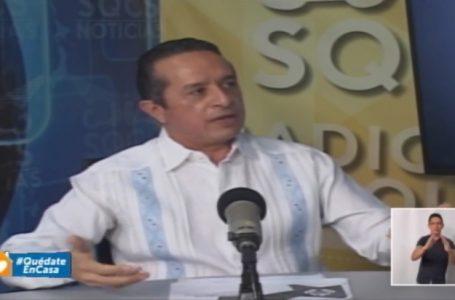 ANUNCIA CARLOS JOAQUÍN  APOYO ALIMENTARIO A MÁS DE 500 MIL HOGARES, SUSPENSIÓN DE CORTES DE LUZ Y SE GESTIONA CON CFE LA LUZ