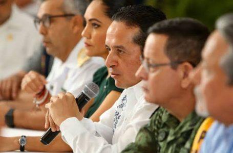 INSTALA QUINTANA ROO CONTROLES SANITARIOS EN LAS ENTRADAS CARRETERAS Y FILTROS PARA VIGILAR LA MOVILIDAD INTERNA : CARLOS JOAQUÍN