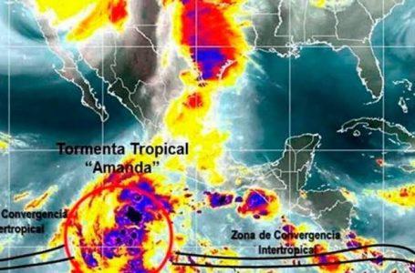 """SURGE TORMENTA TROPICAL """"AMADA"""" EN GUATEMALA , NO REPRESENTA PELIGRO PARA QUINTANA ROO AL MOMENTO"""