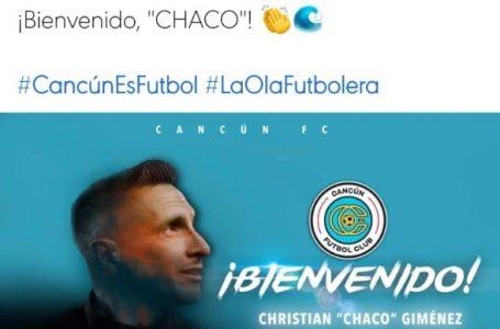 """SERÁ EL """"CHACO"""" GIMÉNEZ EL D.T DEL CANCÚN FC"""