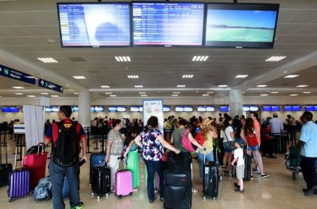 INICIA JULIO CON MÁS DE 100 OPERACIONES EN AEROPUERTO DE CANCÚN