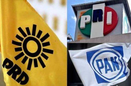 """FORMALIZAN ALIANZA PAN, PRI Y PRD """"VA POR MÉXICO"""" PARA ELECCIONES DEL 2021"""