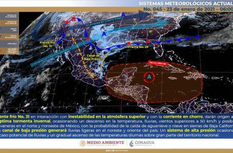 REGRESA CLIMA CÁLIDO ESTE SÁBADO PARA LA PENÍNSULA DE YUCATÁN