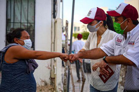 AGRADECE SOLIDARIDAD APOYOS DE LA CUARTA TRANSFORMACIÓN : JUAN CARRILLO